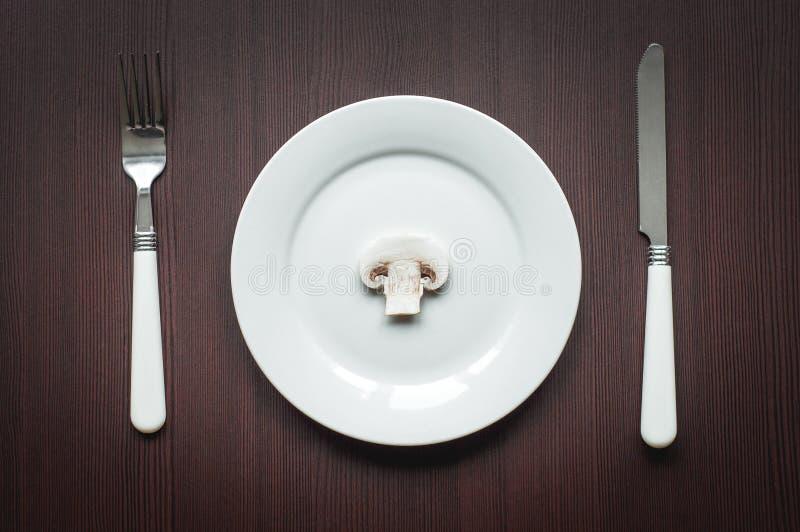 Dieta cruda de la dieta estricta foto de archivo libre de regalías