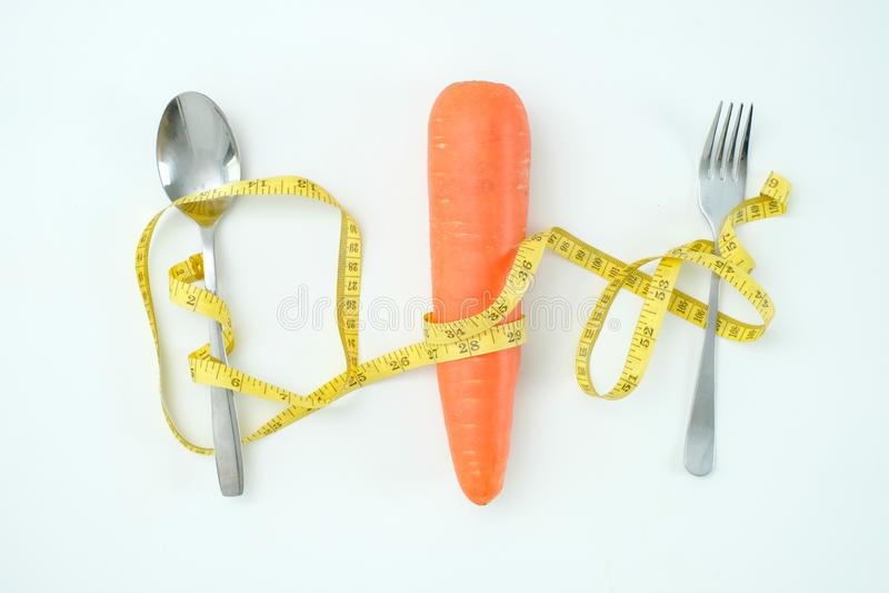 A dieta de alimento saudável pesa a dieta Ketogenic do conceito da perda imagens de stock