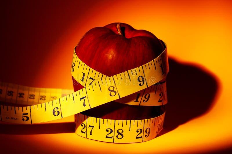 Dieta de Apple fotografia de stock