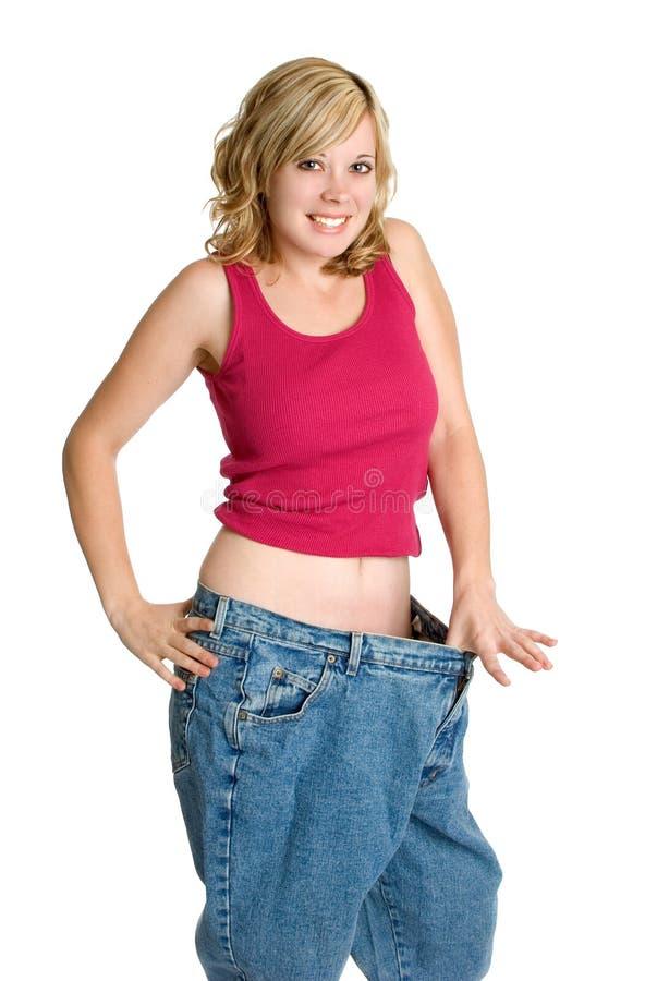 Dieta de la pérdida de peso fotografía de archivo
