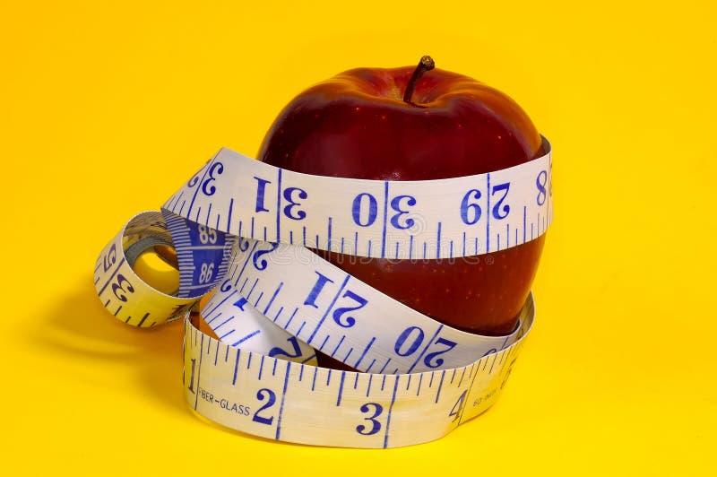 Dieta del Apple fotografie stock libere da diritti