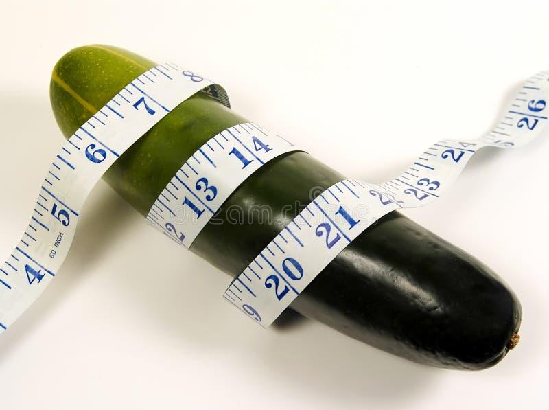 Dieta del cetriolo fotografia stock