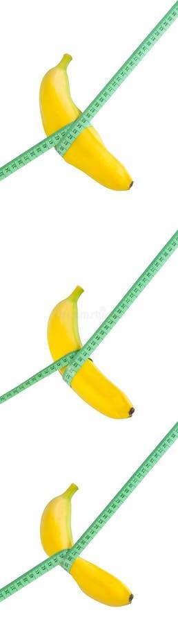 Dieta del plátano fotografía de archivo