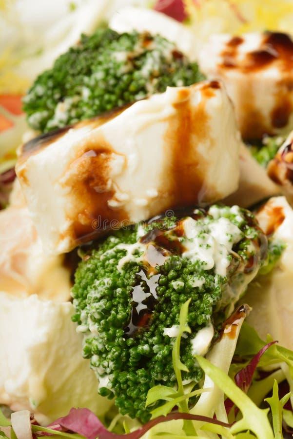 Dieta dell'insalata fotografia stock