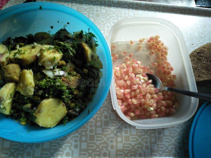 dieta do almoço fotografia de stock