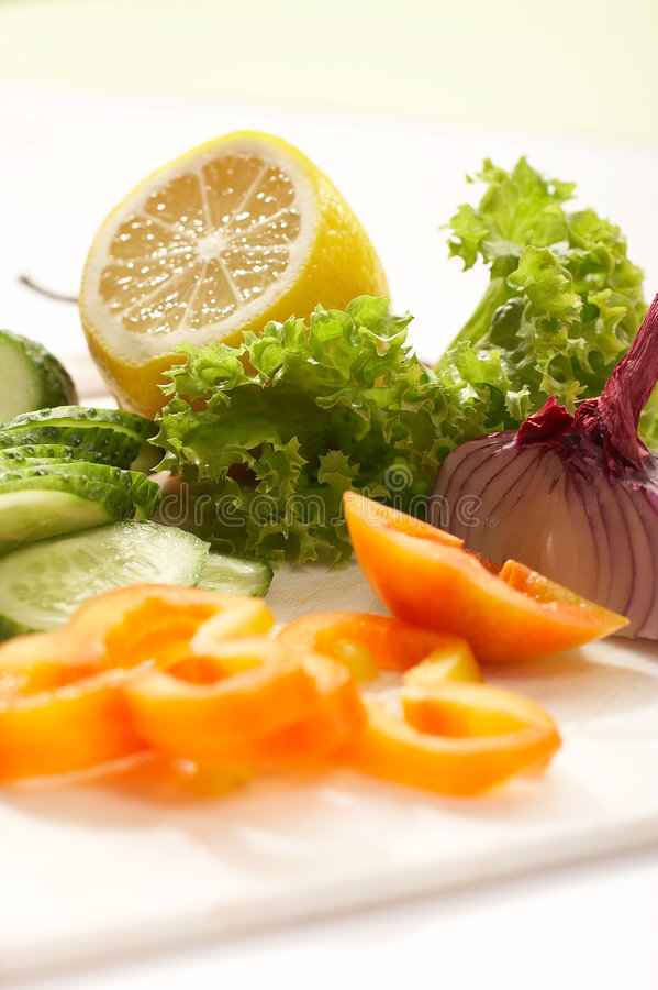 Dieta do vegetariano fotografia de stock royalty free