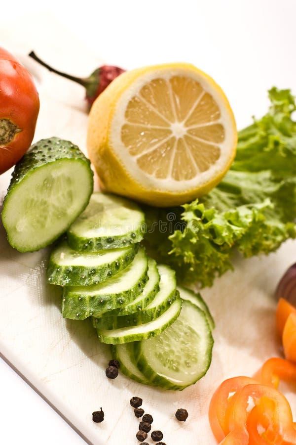 Dieta do vegetariano foto de stock royalty free