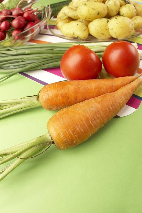 Dieta dos vegetais fotografia de stock