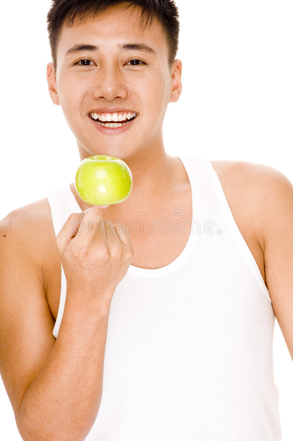 Download Dieta equilibrata fotografia stock. Immagine di maschio - 219032
