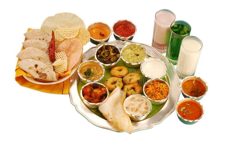 Dieta equilibrata indiana immagine stock libera da diritti