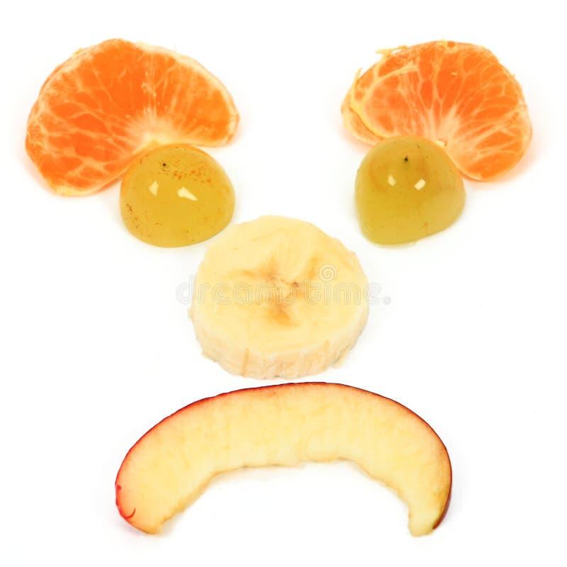 Dieta feliz de las frutas imágenes de archivo libres de regalías