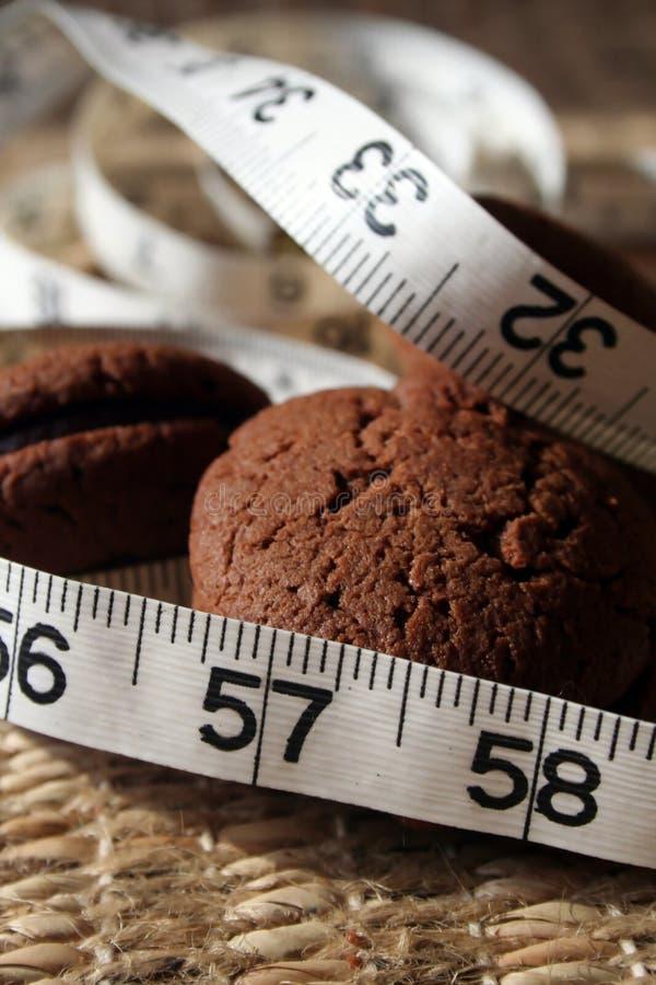 Dieta, galletas, tentación 1 fotos de archivo