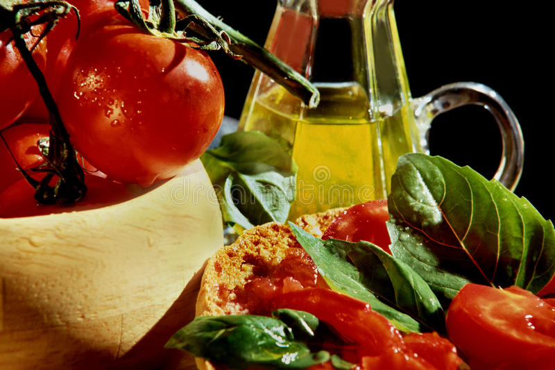 Dieta mediterránea fotos de archivo
