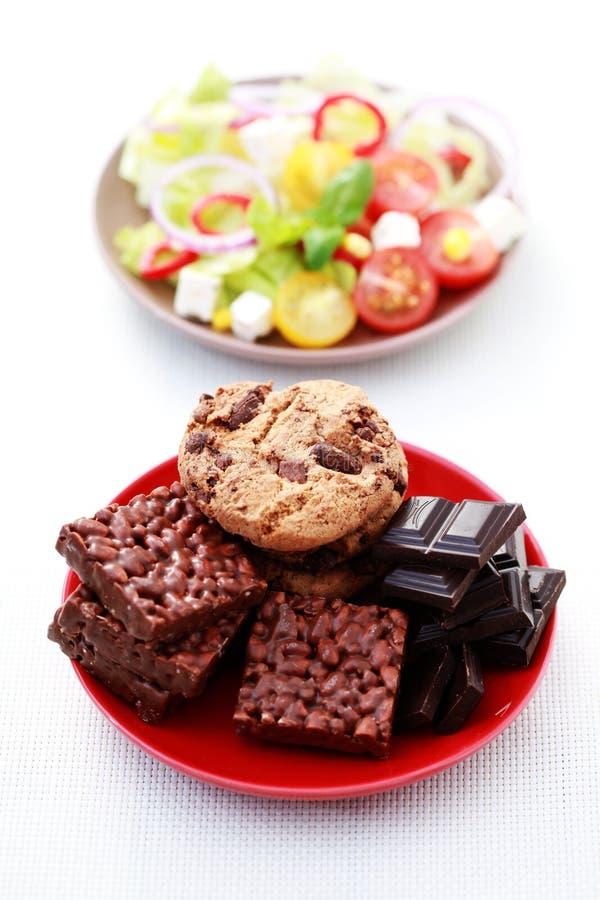 dieta nie obrazy royalty free