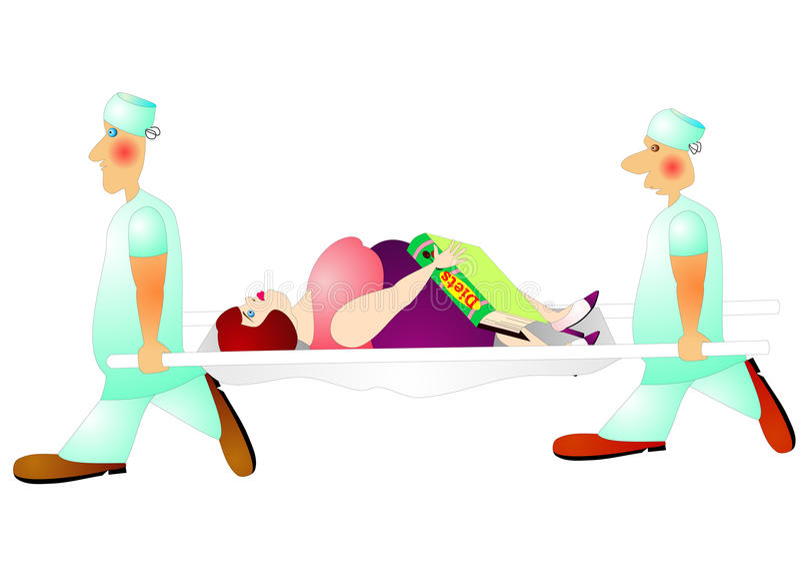 Dieta peligrosa libre illustration
