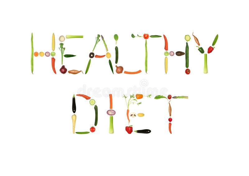 Dieta sana ilustración del vector