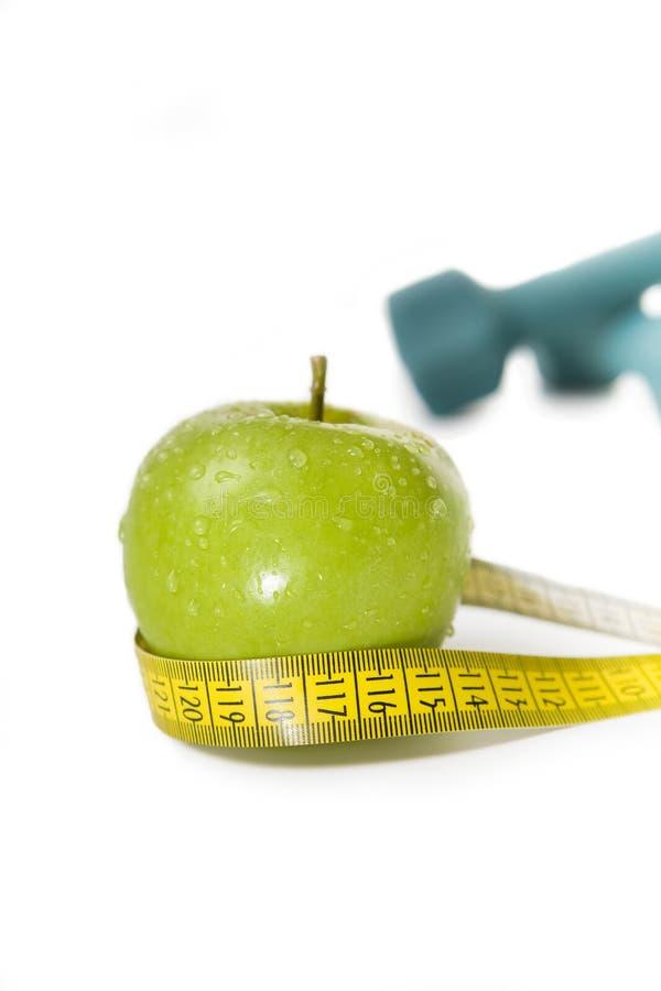 Dieta saudável & exercício foto de stock royalty free