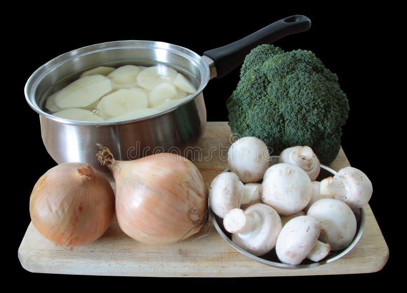 Dieta saudável do vegetariano imagens de stock royalty free