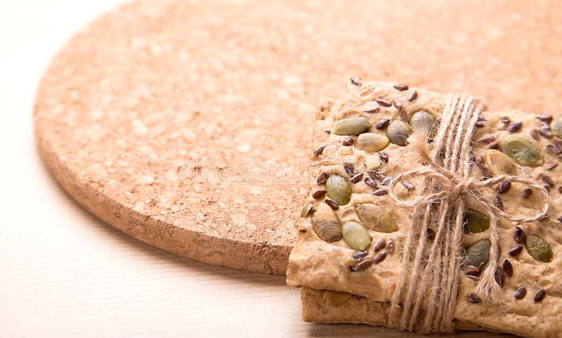 Dietary bread. Diet and health. Concept stock photos