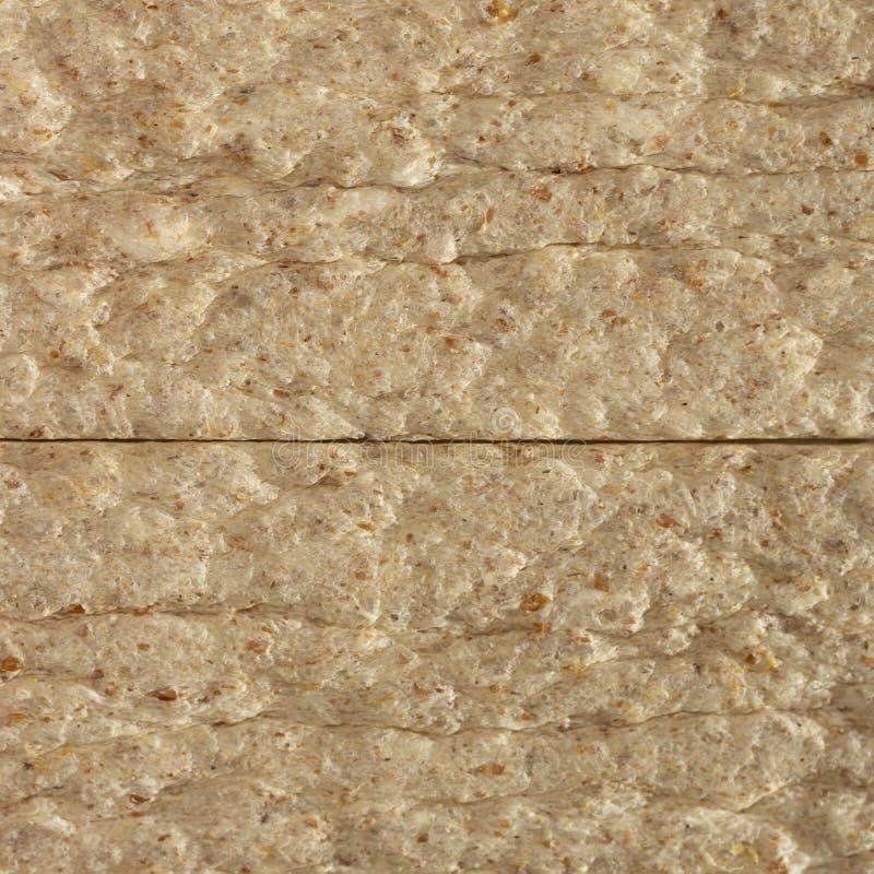 Dietary crispy bread texture macro close up. Dietary crispy bread texture macro closeup royalty free stock image