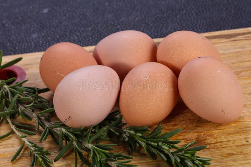 Dietary guinea fowl egg royalty free stock images