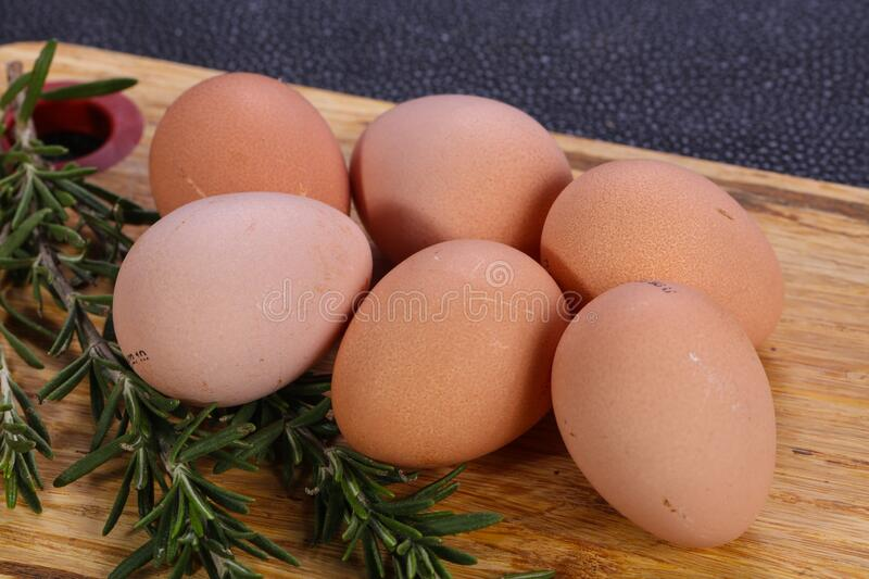Dietary guinea fowl egg. S for cook royalty free stock photo