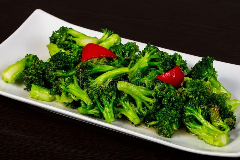 Dietary Steamed cauliflower royalty free stock photo