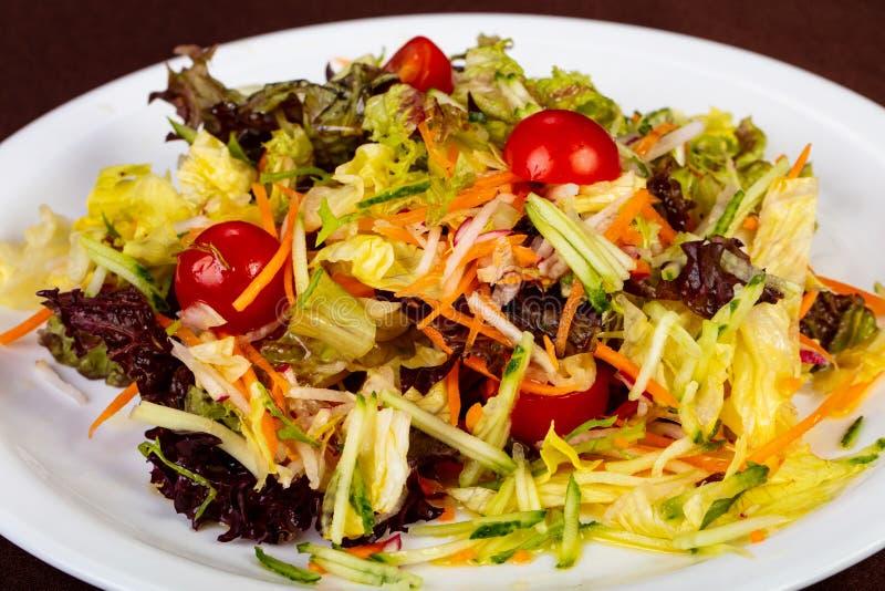 Dietary vegan salad royalty free stock photography