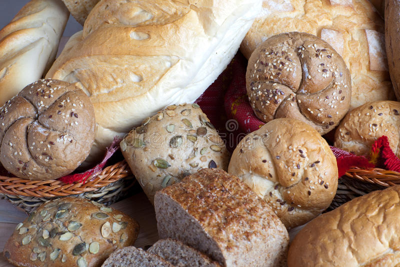 Dietetic bread stock image
