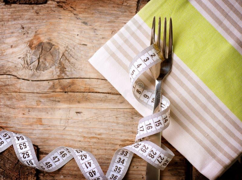 dieting диетпитания принципиальной схемы стоковое изображение
