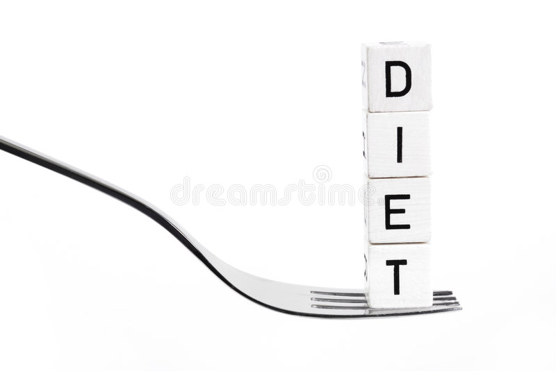 Download Dieting stock photo. Image of cube, loseing, isolated - 4341346