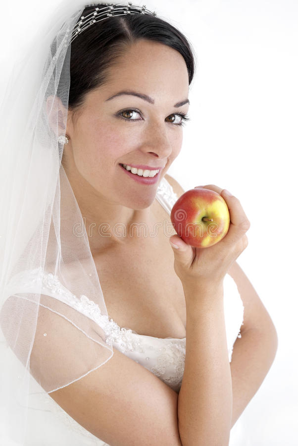 Dieting Bride Stock Image