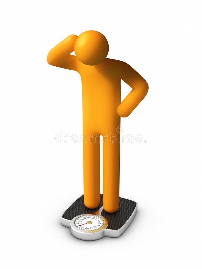 Download Dieting - Failure stock illustration. Illustration of body - 20428808