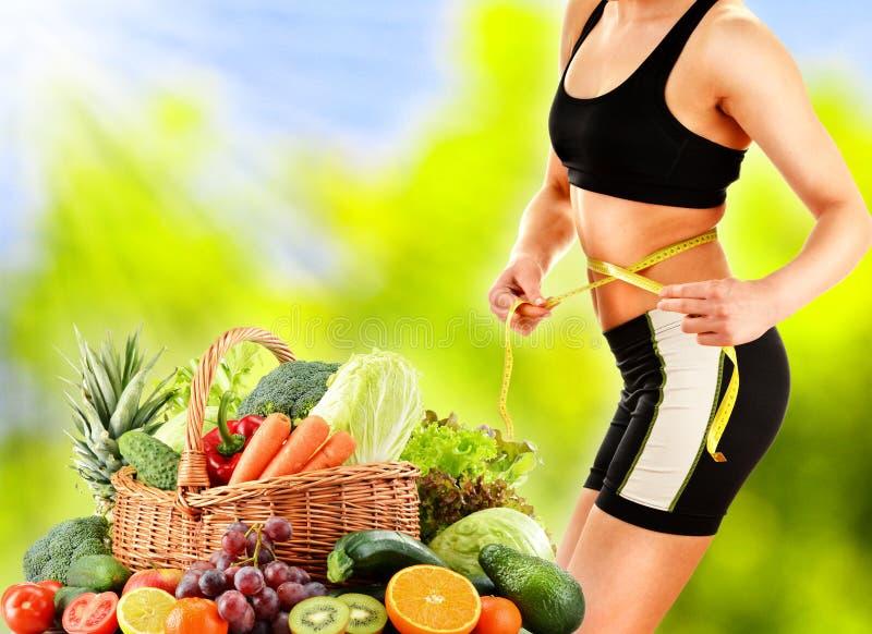 dieting Het op dieet zijn royalty-vrije stock foto's