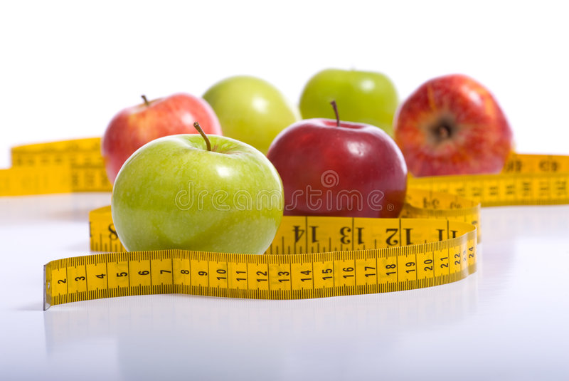 Download Dieting Items stock photo. Image of fuji, eating, apples - 5125822