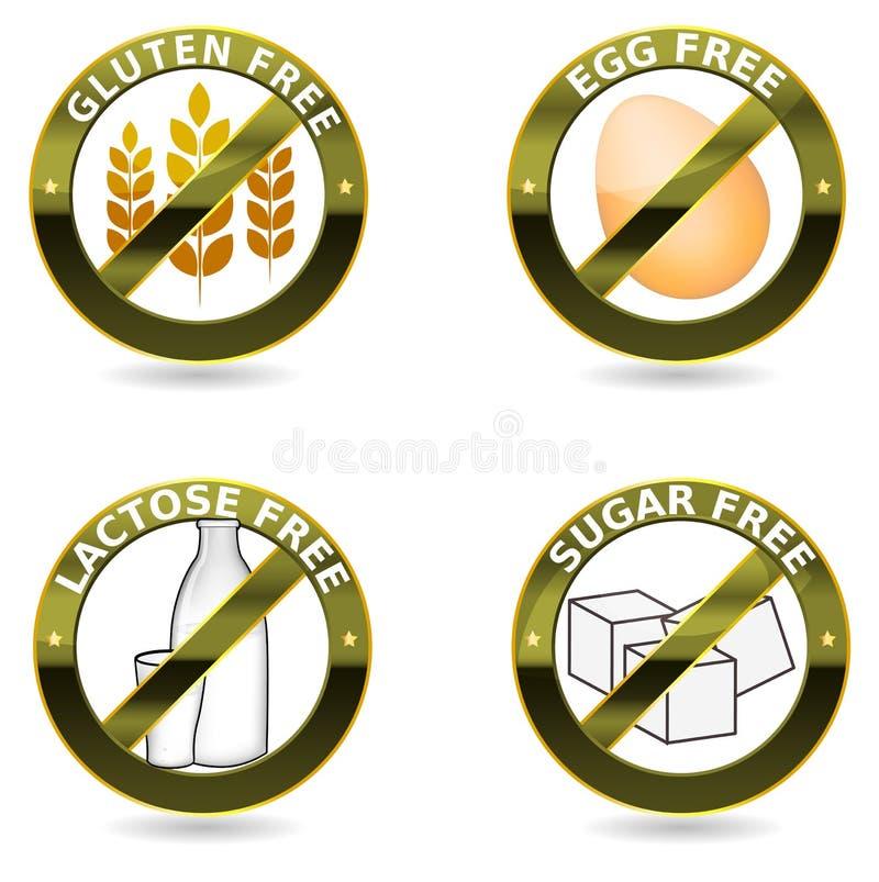 Diety ikony kolekcja ilustracji