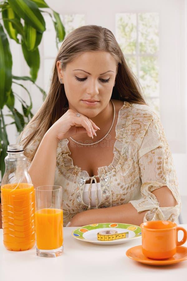 diety kobiety potomstwa zdjęcia stock