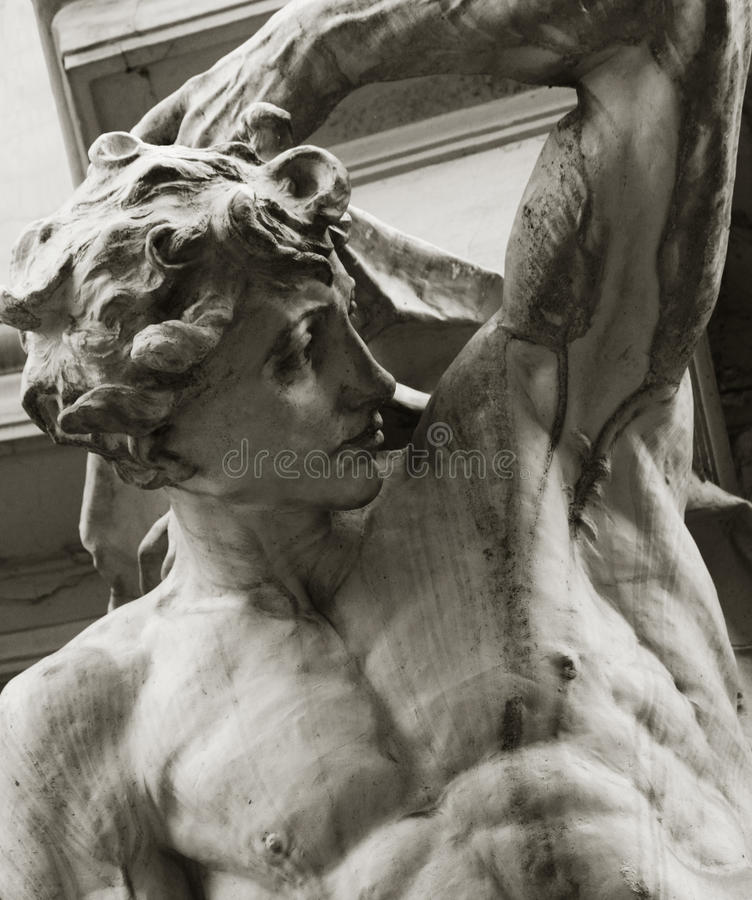 Dieu Apollo en mythologie grecque (Phoebus - en mythologie romaine) images libres de droits