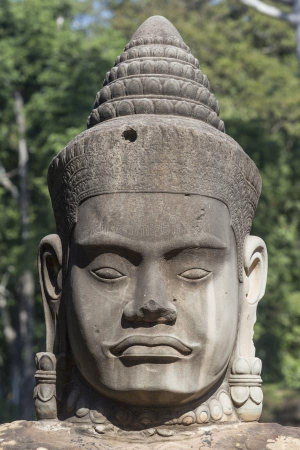 Dieu de gardien d'Angkor Vat photo libre de droits