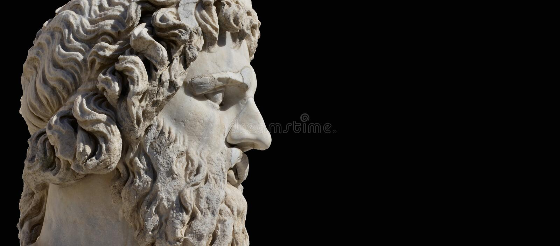 Dieu du grec ancien image libre de droits