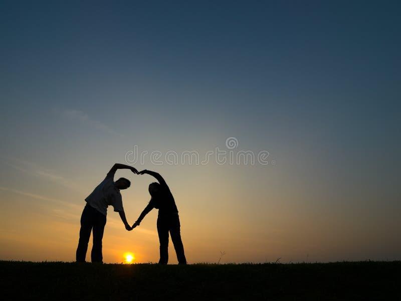 Dieu est amour photo stock
