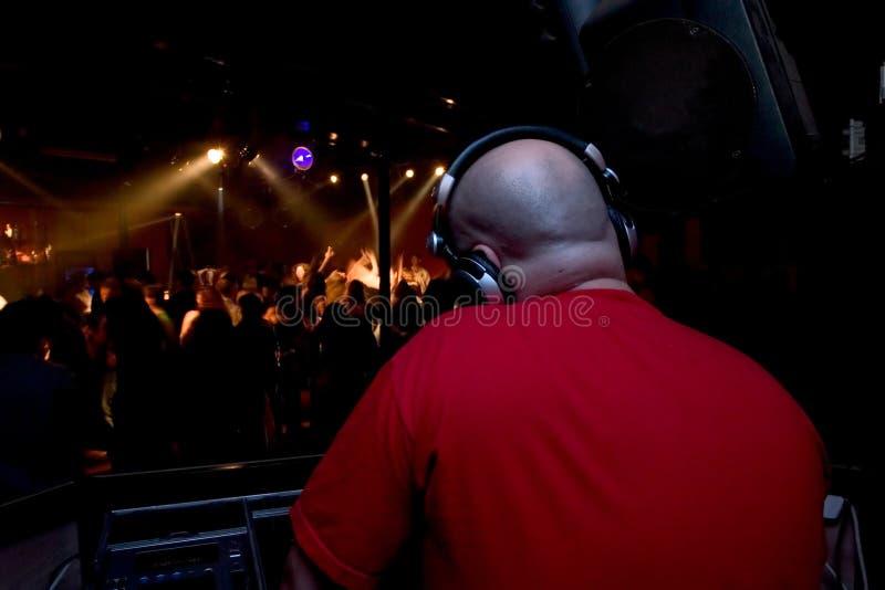 Dieu est le DJ images stock