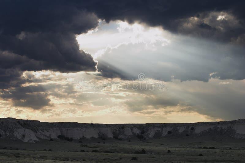 Dieu observe photographie stock libre de droits