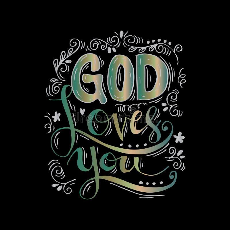 Download Dieu vous aime illustration stock. Illustration du ministère - 87706739