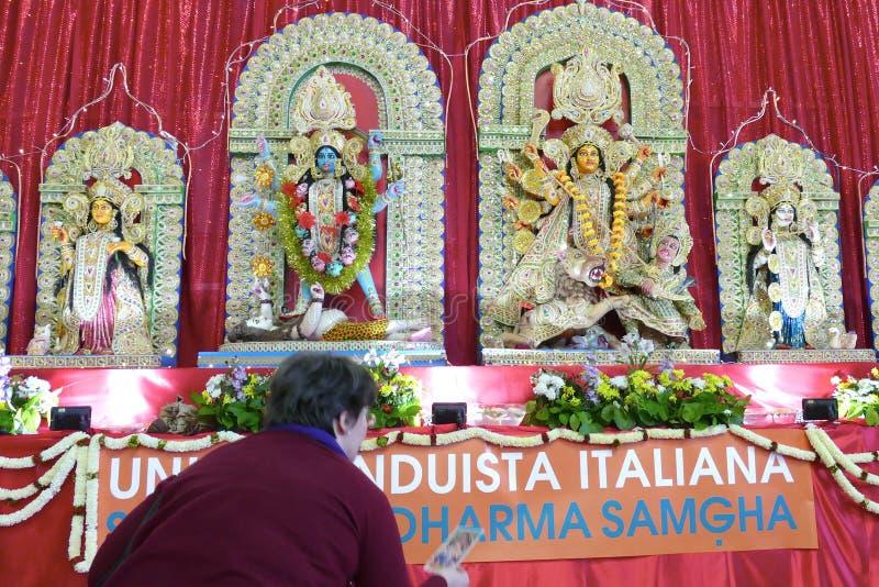 Dieux d'hindouisme et statues de déesses photos libres de droits
