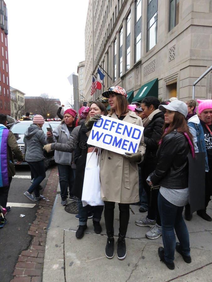 Difenda le donne immagine stock libera da diritti
