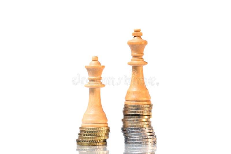 Diferencias de la renta entre los hombres y las mujeres imagen de archivo libre de regalías