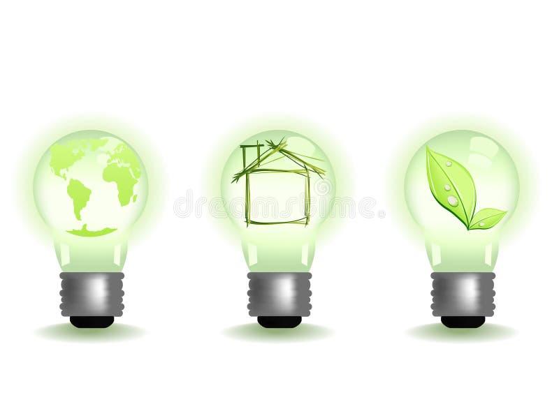 Download Diferente ilumina ilustração stock. Ilustração de verde - 12801029