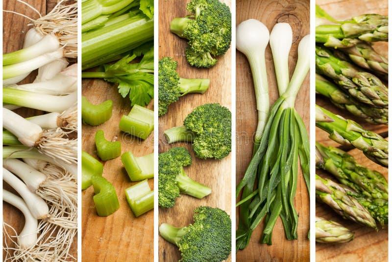 Diferente tipo de verduras en un fondo fotos de archivo libres de regalías