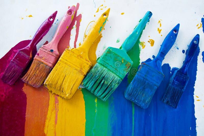 Différentes couleurs images stock